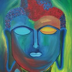 abstract lord buddha, 18 x 30 inch, kinjal gorakh,18x30inch,canvas,paintings,abstract paintings,buddha paintings,art deco paintings,expressionism paintings,impressionist paintings,paintings for dining room,paintings for living room,paintings for bedroom,paintings for office,paintings for hotel,paintings for school,paintings for hospital,paintings for dining room,paintings for living room,paintings for bedroom,paintings for office,paintings for hotel,paintings for school,paintings for hospital,oil color,GAL01715928352