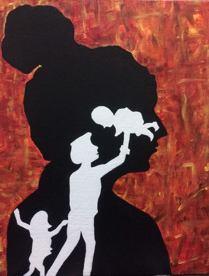 a mother, 14 x 18 inch, kinjal gorakh,14x18inch,canvas board,paintings,figurative paintings,conceptual paintings,art deco paintings,expressionism paintings,illustration paintings,impressionist paintings,paintings for dining room,paintings for living room,paintings for bedroom,paintings for hotel,paintings for school,paintings for hospital,acrylic color,GAL01715928354
