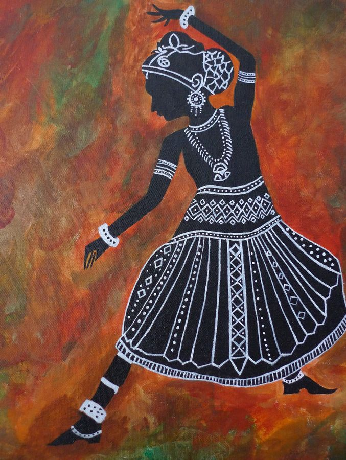 dance is art, 15 x 22 inch, kinjal gorakh,15x22inch,canvas board,paintings,figurative paintings,folk art paintings,modern art paintings,art deco paintings,expressionism paintings,illustration paintings,impressionist paintings,paintings for dining room,paintings for living room,paintings for bedroom,paintings for hotel,paintings for school,acrylic color,GAL01715928356