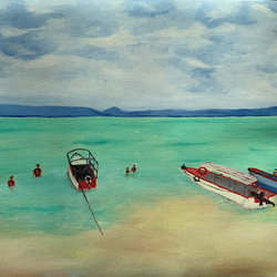 sea beach, 24 x 18 inch, sunil kumar shrivastava,24x18inch,canvas,paintings,abstract paintings,figurative paintings,landscape paintings,modern art paintings,still life paintings,portrait paintings,nature paintings | scenery paintings,paintings for dining room,paintings for living room,paintings for bedroom,paintings for office,paintings for bathroom,paintings for kids room,paintings for hotel,paintings for school,paintings for hospital,oil color,GAL01717228370