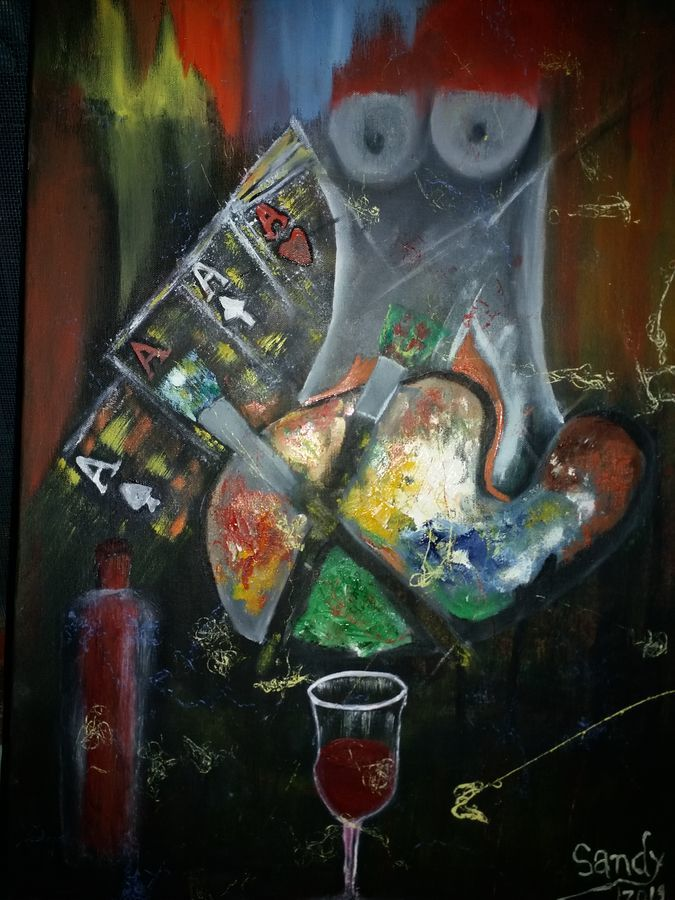 untitle, 20 x 30 inch, sandeep joshi,20x30inch,canvas,paintings,abstract paintings,paintings for hotel,mixed media,oil color,GAL0778528407