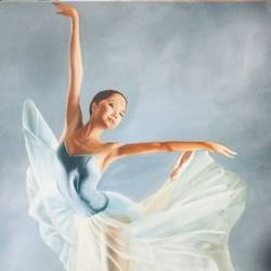 ballet dancer , 30 x 36 inch, geetu thakur,30x36inch,canvas,paintings,abstract expressionism paintings,realism paintings,contemporary paintings,paintings for dining room,paintings for living room,paintings for bedroom,paintings for office,paintings for hotel,paintings for hospital,oil color,GAL01726128469