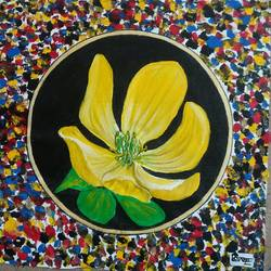 abstract paintng, 14 x 14 inch, luxmi bishnoi,14x14inch,canvas,abstract paintings,flower paintings,acrylic color,GAL01307428479