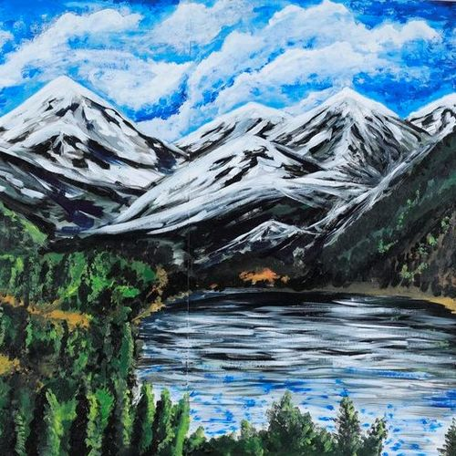untitled, 43 x 28 inch, rahul raj,43x28inch,canvas,paintings,landscape paintings,photorealism,paintings for living room,paintings for bedroom,paintings for hotel,paintings for school,acrylic color,GAL01732828533