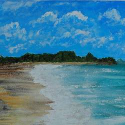 the empty beach, 20 x 16 inch, rahul raj,20x16inch,canvas,paintings,landscape paintings,nature paintings | scenery paintings,expressionism paintings,realism paintings,paintings for dining room,paintings for living room,paintings for bedroom,paintings for office,paintings for bathroom,paintings for kids room,paintings for hotel,paintings for kitchen,paintings for school,acrylic color,GAL01732828536