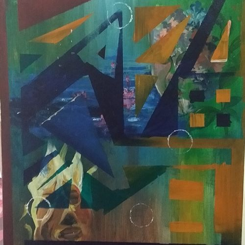 lost, 14 x 18 inch, ishita debnath,14x18inch,canvas,paintings,abstract paintings,abstract drawings,acrylic color,GAL01356228557