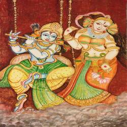 priye charusheele, 30 x 22 inch, lavanya venkatesh,religious paintings,paintings for living room,thick paper,poster color,30x22inch,GAL0117286