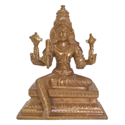 blessing lord sri venkateswara holding sangu bronze statue, 2 x 6 inch, vgo cart,2x6inch,canvas board,religious statues,bronze,GAL01132728651
