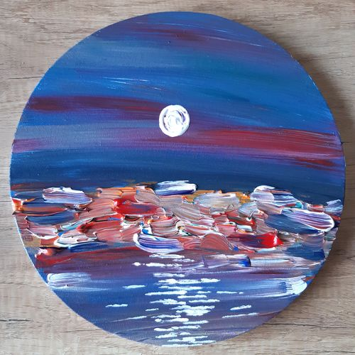 abstract night scene painting, 12 x 12 inch, dhvani chokshi,12x12inch,canvas,paintings,abstract paintings,cityscape paintings,modern art paintings,nature paintings | scenery paintings,minimalist paintings,street art,contemporary paintings,paintings for dining room,paintings for living room,paintings for bedroom,paintings for office,paintings for bathroom,paintings for kids room,paintings for hotel,paintings for school,acrylic color,GAL01738828718