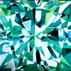 diamond , 12 x 12 inch, sunits mathur,12x12inch,canvas,paintings,abstract paintings,paintings for dining room,oil color,GAL01727228725