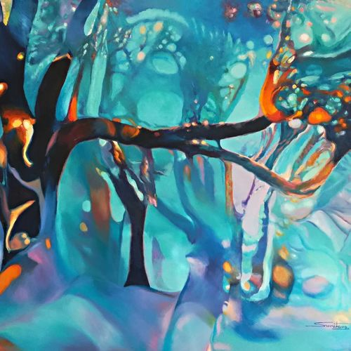 colour of the universe xi, 57 x 39 inch, sumitava maity,57x39inch,canvas,paintings,abstract paintings,landscape paintings,conceptual paintings,nature paintings   scenery paintings,abstract expressionism paintings,cubism paintings,expressionism paintings,impressionist paintings,surrealism paintings,contemporary paintings,paintings for dining room,paintings for living room,paintings for bedroom,paintings for office,paintings for kids room,paintings for hotel,paintings for kitchen,paintings for school,paintings for hospital,oil color,GAL01556828814
