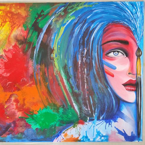 beautiful painting, 30 x 20 inch, harminder singh,30x20inch,canvas,paintings,abstract paintings,paintings for living room,paintings for hotel,paintings for living room,paintings for hotel,acrylic color,GAL01734928835