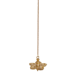 decorative brass chain hanging diya, 23 x 5 inch, vgo cart,23x5inch,canvas,handicrafts,brass statue,brass,GAL01132728841