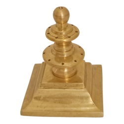 pure brass agarbatti stand for pooja room, 4 x 4 inch, vgo cart,4x4inch,canvas,handicrafts,brass statue,brass,GAL01132728843