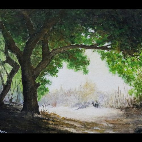 natures lap, 12 x 8 inch, anas babi,12x8inch,canvas,paintings,landscape paintings,nature paintings | scenery paintings,realism paintings,realistic paintings,paintings for living room,paintings for bedroom,paintings for office,paintings for hotel,poster color,GAL0138428845
