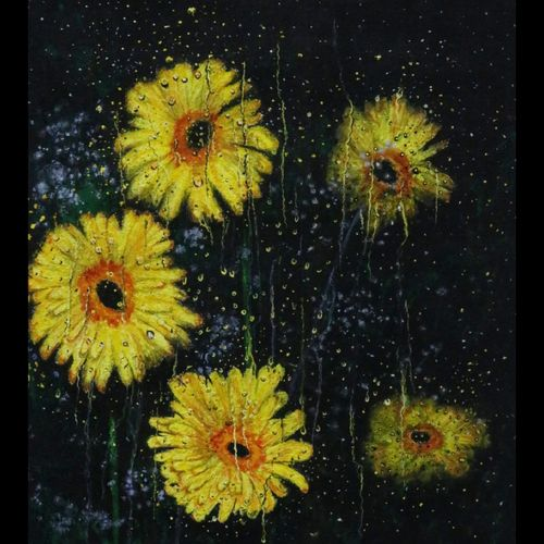 flowers in rain 1, 12 x 14 inch, anas babi,12x14inch,canvas,paintings,abstract paintings,flower paintings,landscape paintings,modern art paintings,nature paintings | scenery paintings,photorealism paintings,photorealism,realism paintings,realistic paintings,paintings for living room,paintings for bedroom,paintings for office,paintings for hotel,paintings for school,paintings for hospital,paintings for living room,paintings for bedroom,paintings for office,paintings for hotel,paintings for school,paintings for hospital,poster color,GAL0138428846