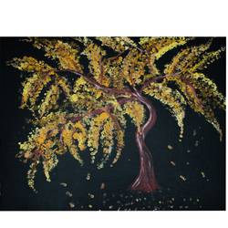 autumn tree, 20 x 16 inch, shallu kaur,20x16inch,canvas,nature paintings | scenery paintings,paintings for dining room,paintings for living room,paintings for bedroom,paintings for office,paintings for kids room,paintings for dining room,paintings for living room,paintings for bedroom,paintings for office,paintings for kids room,acrylic color,GAL01713328863