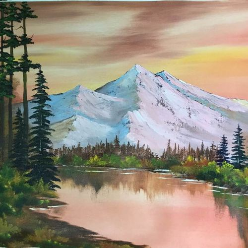 mountain lake, 26 x 20 inch, shankhadeep  mondal,26x20inch,canvas,paintings,landscape paintings,paintings for dining room,paintings for living room,paintings for bedroom,paintings for office,paintings for kids room,paintings for hotel,paintings for kitchen,paintings for school,paintings for hospital,paintings for dining room,paintings for living room,paintings for bedroom,paintings for office,paintings for kids room,paintings for hotel,paintings for kitchen,paintings for school,paintings for hospital,acrylic color,GAL01403028975