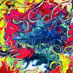 medusa island, 18 x 18 inch, yamini prasad,18x18inch,canvas,abstract paintings,modern art paintings,abstract expressionism paintings,contemporary paintings,paintings for dining room,paintings for living room,paintings for bedroom,paintings for office,paintings for kids room,paintings for hotel,paintings for kitchen,paintings for school,paintings for hospital,paintings for dining room,paintings for living room,paintings for bedroom,paintings for office,paintings for kids room,paintings for hotel,paintings for kitchen,paintings for school,paintings for hospital,acrylic color,GAL01583629007