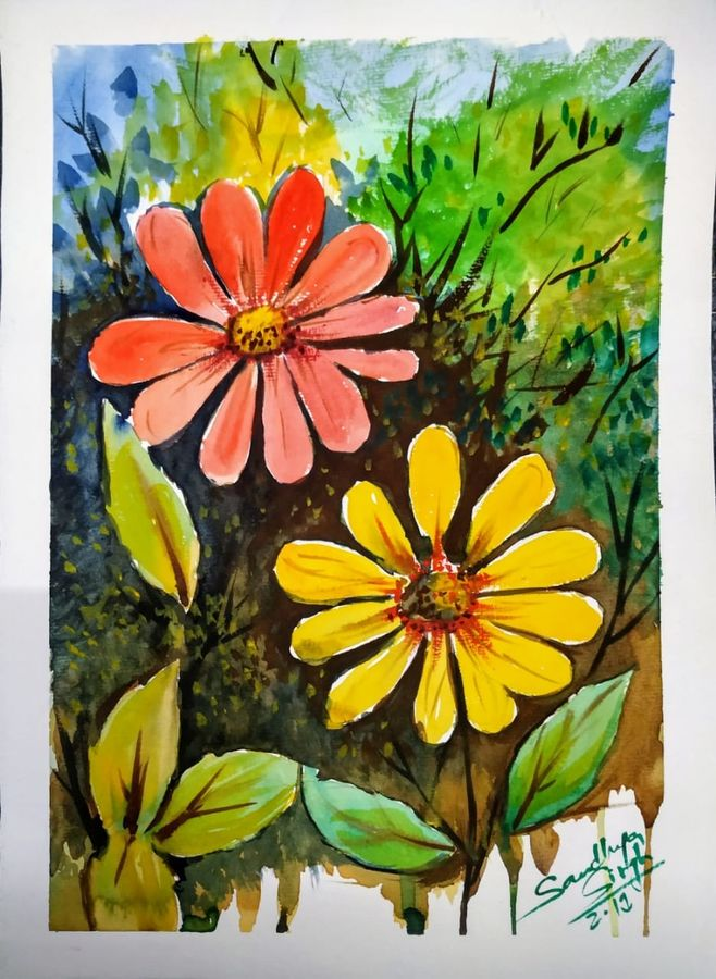 flowers, 15 x 11 inch, sandhya singh,15x11inch,canson paper,abstract paintings,flower paintings,nature paintings   scenery paintings,paintings for dining room,paintings for living room,paintings for bedroom,paintings for office,paintings for bathroom,paintings for kids room,paintings for hotel,paintings for kitchen,paintings for school,paintings for hospital,paintings for dining room,paintings for living room,paintings for bedroom,paintings for office,paintings for bathroom,paintings for kids room,paintings for hotel,paintings for kitchen,paintings for school,paintings for hospital,watercolor,GAL0874929008