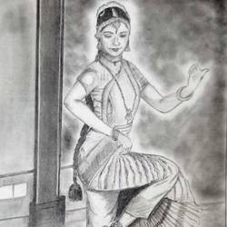 fairy sketch, 12 x 14 inch, samarth shejale,12x14inch,thick paper,drawings,paintings for living room,figurative drawings,paintings for living room,graphite pencil,paper,GAL01786629019