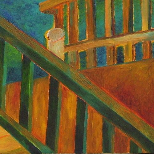 the yellow verandah, 30 x 34 inch, chaitali chatterjee,30x34inch,canvas,paintings,landscape paintings,nature paintings | scenery paintings,contemporary paintings,paintings for dining room,paintings for living room,paintings for office,paintings for kids room,paintings for hotel,paintings for school,paintings for hospital,paintings for dining room,paintings for living room,paintings for office,paintings for kids room,paintings for hotel,paintings for school,paintings for hospital,oil color,GAL01566229045