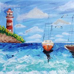scenic landscape, 16 x 20 inch, ramya varun,16x20inch,canvas,abstract paintings,acrylic color,GAL01794729071
