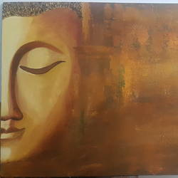 calm, 30 x 20 inch, damanpreet cheema ,30x20inch,canvas,abstract paintings,buddha paintings,paintings for dining room,paintings for living room,paintings for bedroom,paintings for office,paintings for hotel,paintings for dining room,paintings for living room,paintings for bedroom,paintings for office,paintings for hotel,acrylic color,GAL01788329115