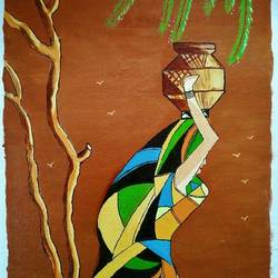 art 7003, 12 x 16 inch, g renuka naidu,12x16inch,canvas,paintings,abstract paintings,paintings for dining room,paintings for living room,paintings for bedroom,paintings for office,paintings for kids room,paintings for hotel,paintings for school,paintings for hospital,oil color,GAL01701029162