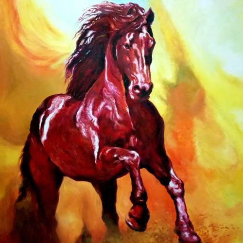 force v, 36 x 48 inch, sumitava maity,36x48inch,canvas,paintings,abstract paintings,wildlife paintings,modern art paintings,conceptual paintings,abstract expressionism paintings,expressionism paintings,impressionist paintings,photorealism paintings,photorealism,realism paintings,surrealism paintings,contemporary paintings,realistic paintings,horse paintings,paintings for dining room,paintings for living room,paintings for bedroom,paintings for office,paintings for bathroom,paintings for kids room,paintings for hotel,paintings for school,paintings for hospital,oil color,GAL01556829174