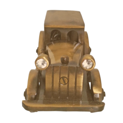 brass figurine vintage small car showpiece, 3 x 3 inch, vgo cart,3x3inch,canvas board,handicrafts,brass statue,brass,GAL01132729241