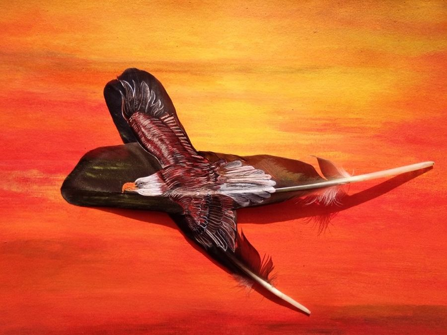 eagle, 11 x 10 inch, aditi agarwal,wildlife paintings,paintings for office,canvas,acrylic color,11x10inch,GAL011442938