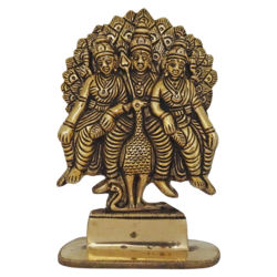 tamil hindu god murugan sitting with goddess valli and dheivanai statue, 2 x 7 inch, vgo cart,2x7inch,hardboard,religious statues,brass,GAL01132729384