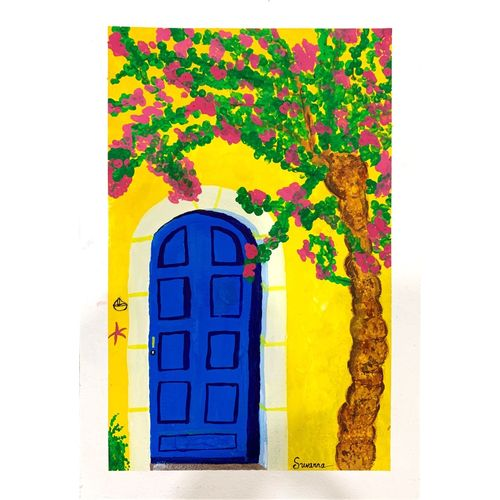 the door, 9 x 12 inch, suvarna nirala,9x12inch,thick paper,landscape paintings,modern art paintings,street art,realistic paintings,paintings for living room,paintings for bedroom,paintings for office,paintings for kids room,paintings for school,paintings for living room,paintings for bedroom,paintings for office,paintings for kids room,paintings for school,watercolor,GAL01148129485