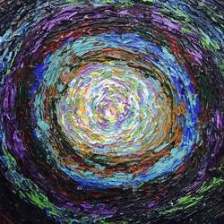 a whirlpool , 12 x 12 inch, sanjana nagpal,12x12inch,canvas,abstract paintings,acrylic color,GAL0755529545