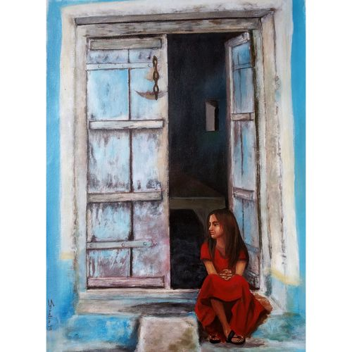 untitled, 18 x 24 inch, sheetal bhatia,18x24inch,canvas,figurative paintings,paintings for dining room,paintings for living room,paintings for office,paintings for kids room,paintings for hotel,paintings for school,paintings for dining room,paintings for living room,paintings for office,paintings for kids room,paintings for hotel,paintings for school,acrylic color,GAL01681929614
