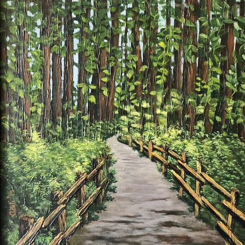 forest, 20 x 24 inch, aditi mitra,20x24inch,canvas,paintings,modern art paintings,nature paintings | scenery paintings,paintings for dining room,paintings for living room,paintings for bedroom,paintings for office,paintings for bathroom,paintings for hotel,paintings for kitchen,acrylic color,GAL01820629638