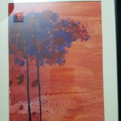 an autumn evening, 10 x 13 inch, upamanyu sensharma,10x13inch,drawing paper,paintings for living room,paintings for office,abstract drawings,paintings for living room,paintings for office,poster color,GAL01822729645