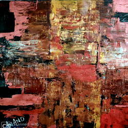red abstract, 27 x 30 inch, anand manchiraju,27x30inch,canvas,paintings,abstract paintings,paintings for living room,paintings for office,paintings for hotel,acrylic color,GAL01254029647