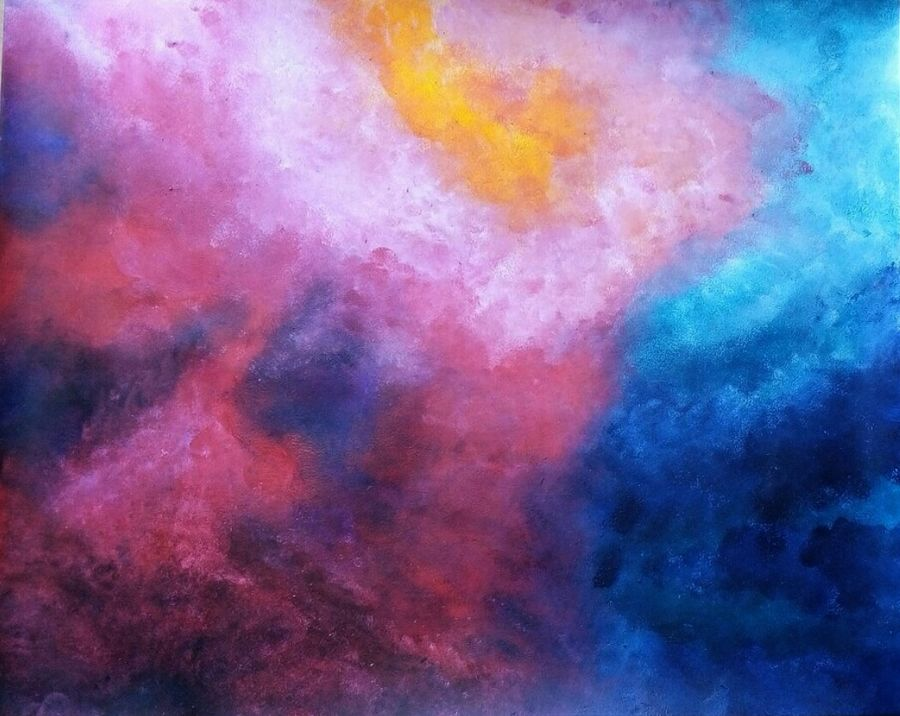 the emotions, 13 x 11 inch, mrinalini anagani,abstract paintings,paintings for living room,paintings for office,thick paper,acrylic color,13x11inch,GAL011212966