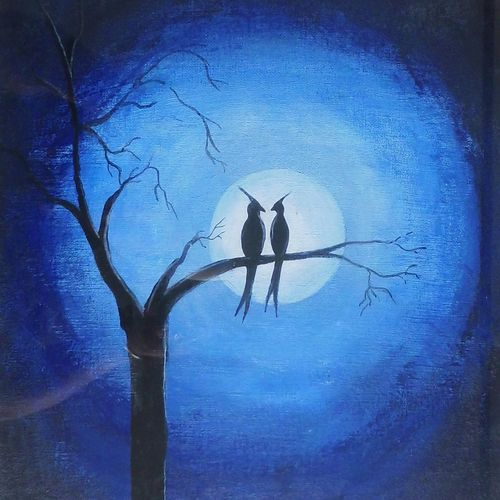 love bird's , 18 x 22 inch, syed akheel,wildlife paintings,paintings for bedroom,love paintings,thick paper,acrylic color,18x22inch,GAL011352969heart,family,caring,happiness,forever,happy,trust,passion,romance,sweet,kiss,love,hugs,warm,fun,kisses,joy,friendship,marriage,chocolate,husband,wife,forever,caring,couple,sweetheart