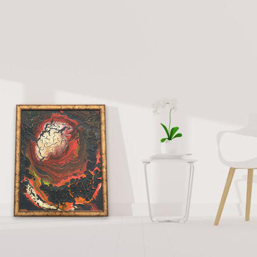 human brain, 18 x 24 inch, zuaah q,18x24inch,canvas,paintings,abstract paintings,paintings for dining room,paintings for living room,paintings for bedroom,paintings for office,paintings for bathroom,paintings for kids room,paintings for hotel,paintings for kitchen,paintings for school,paintings for hospital,acrylic color,oil color,GAL01826129704