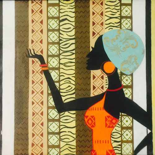 african art-oil, 12 x 12 inch, p sisira,paintings for living room,paintings,contemporary paintings,canvas,oil,12x12inch,GAL011602972
