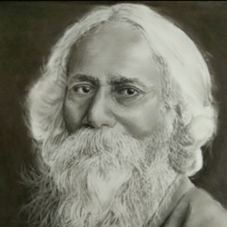 rabindra nath tagore, 10 x 11 inch, poornima yellapurkar,10x11inch,cartridge paper,paintings for dining room,paintings for living room,paintings for bedroom,paintings for office,paintings for kids room,paintings for hotel,paintings for school,portrait drawings,paintings for dining room,paintings for living room,paintings for bedroom,paintings for office,paintings for kids room,paintings for hotel,paintings for school,charcoal,graphite pencil,GAL0953529735