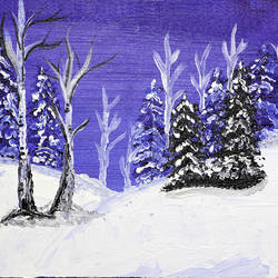 winter morning, 12 x 10 inch, raj sinha,12x10inch,canvas,paintings,landscape paintings,nature paintings | scenery paintings,paintings for dining room,paintings for living room,paintings for bedroom,paintings for office,paintings for bathroom,paintings for kids room,paintings for hotel,paintings for kitchen,paintings for school,paintings for hospital,acrylic color,GAL01831229776