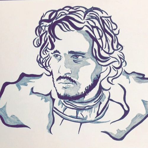 jon snow, 20 x 12 inch, akash bhisikar,20x12inch,paper,paintings,wildlife paintings,modern art paintings,portrait paintings,pop art paintings,portraiture,paintings for dining room,paintings for living room,paintings for bedroom,paintings for office,paintings for bathroom,paintings for kids room,paintings for hotel,paintings for kitchen,paintings for school,paintings for hospital,ink color,pen color,pencil color,ball point pen,graphite pencil,paper,GAL01828629786