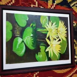 scenery , 12 x 17 inch, janaki desikachari ,12x17inch,thick paper,paintings,nature paintings | scenery paintings,paintings for bedroom,paintings for bedroom,oil color,GAL01812029856