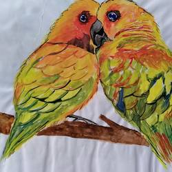 love birds, 12 x 8 inch, chandrani das,12x8inch,paper,wildlife paintings,animal paintings,paintings for dining room,paintings for living room,paintings for bedroom,paintings for office,paintings for bathroom,paintings for kids room,paintings for hotel,paintings for dining room,paintings for living room,paintings for bedroom,paintings for office,paintings for bathroom,paintings for kids room,paintings for hotel,watercolor,GAL01316929971