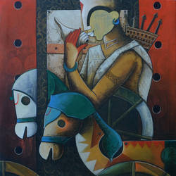 parthasarathi  16, 30 x 36 inch, anupam  pal,30x36inch,canvas,paintings,figurative paintings,conceptual paintings,religious paintings,still life paintings,kalamkari painting,miniature painting.,gond painting.,kerala murals painting,serigraph paintings,paintings for dining room,paintings for living room,paintings for bedroom,paintings for office,paintings for bathroom,paintings for kids room,paintings for hotel,paintings for kitchen,paintings for school,paintings for hospital,paintings for dining room,paintings for living room,paintings for bedroom,paintings for office,paintings for bathroom,paintings for kids room,paintings for hotel,paintings for kitchen,paintings for school,paintings for hospital,acrylic color,GAL08230017