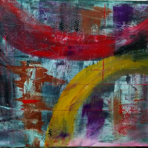 reverie, 38 x 25 inch, amin tehrani,38x25inch,canvas,paintings,abstract paintings,paintings for dining room,paintings for living room,paintings for bedroom,paintings for office,paintings for hotel,paintings for school,paintings for hospital,acrylic color,GAL01855930043